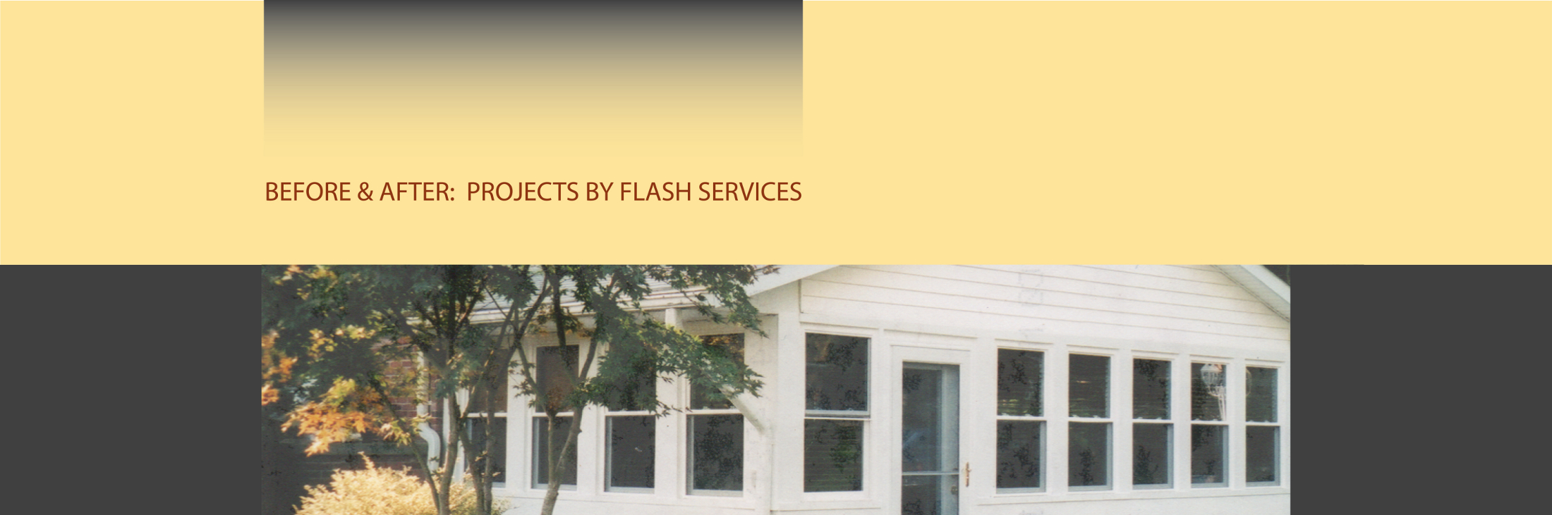 Before & After: Projects by Flash Services